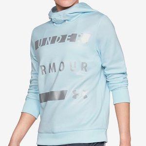 Under Armour Metallic Fleece Hoodie NWT $55